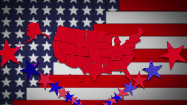 usa stars and stripes - southwest florida stock videos & royalty-free footage