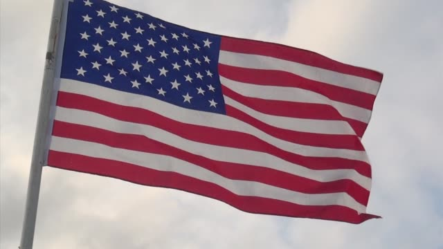 stars and stripes waves - salmini stock videos & royalty-free footage