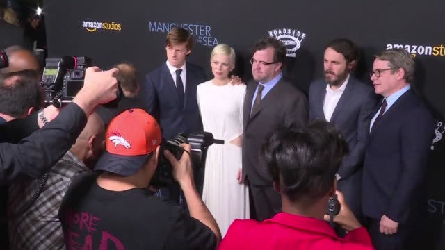 Stars arrive at the screening of the Oscar front runner film Manchester by the Sea
