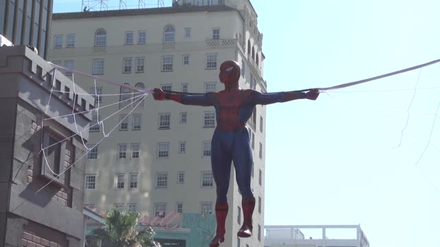 stars attend the world premiere of spider man homecoming - arachnid stock videos and b-roll footage