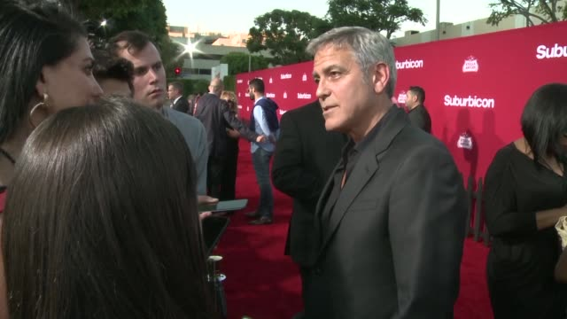 Stars grace the red carpet for the premiere of Paramount Pictures Suburbicon at the Regency Village Theatre in Westwood California