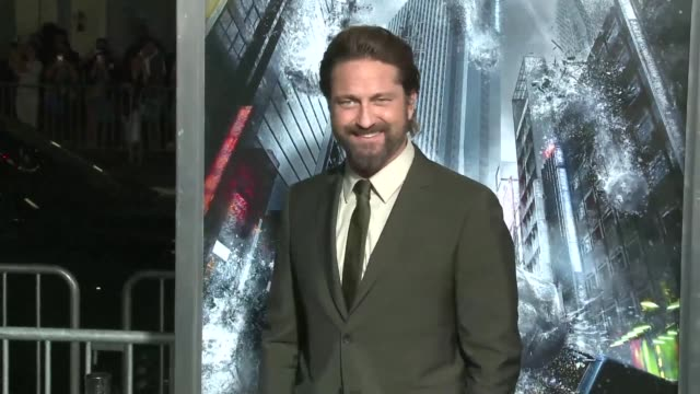 Stars hit the red carpet outside the Chinese Theatre in Los Angeles for the world premiere of Geostorm