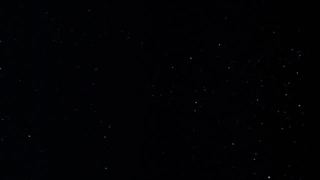 WS stars on sky at night