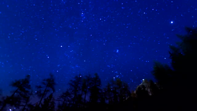 stars over mountains - star shape stock videos & royalty-free footage