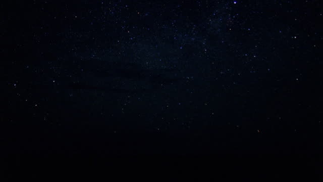 stars seem to streak across the night sky. - meteor stock videos & royalty-free footage