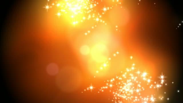 星の輝くきらめきの花火