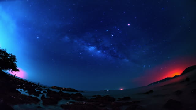 stars time lapse 4k - beauty in nature stock videos & royalty-free footage