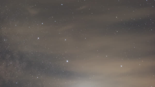 stockvideo's en b-roll-footage met stars turning around in the sky at night - astrologie