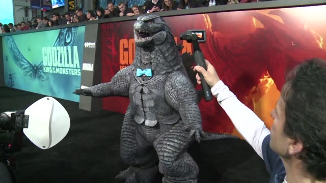 CA: Stars walk red carpet for Godzilla 2 premiere