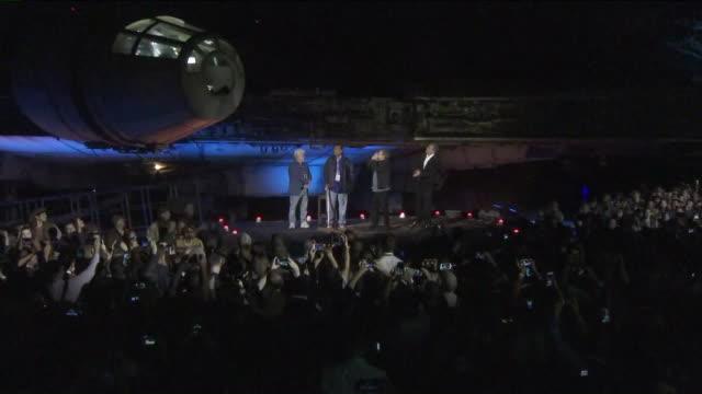 Stars Wars Galaxy's Edge Dedication Ceremony at Disneyland on Wensday May 29 2019