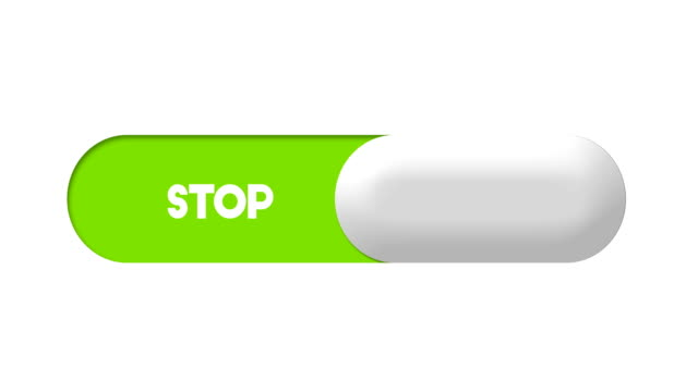 start and stop switch toggle animation - stop sign stock videos & royalty-free footage