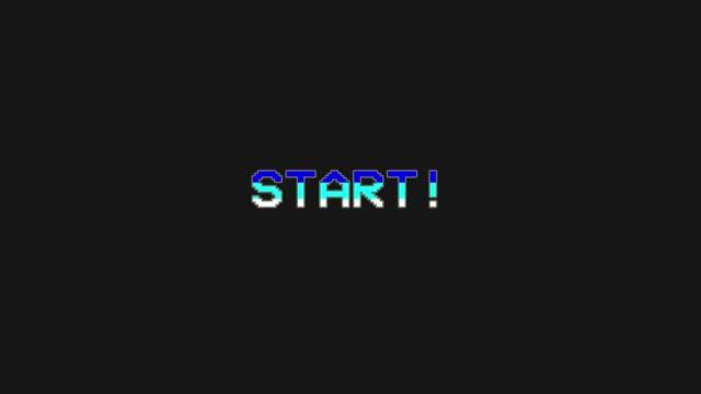 vídeos y material grabado en eventos de stock de inicio - menú de videojuegos glitch and retro concept - vídeo de stock - pixelado