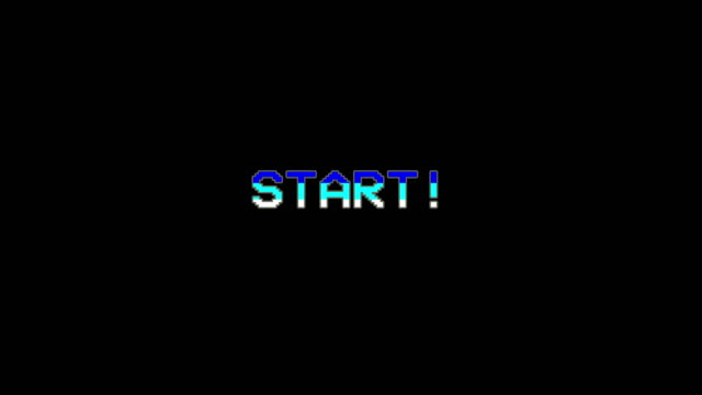 start - video game menu - glitch technique stock videos & royalty-free footage