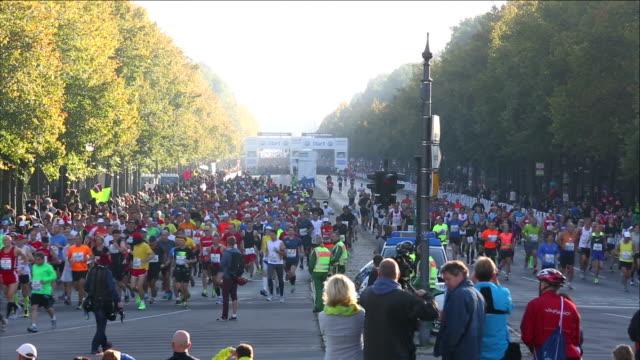 Starting a Marathon in Berlin