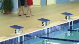 similar clips - Olympic Swimming Starting Blocks