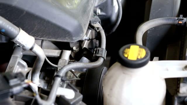 starting car engine - anatomical valve stock videos & royalty-free footage