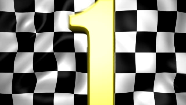 starting flag - number 3 stock videos & royalty-free footage