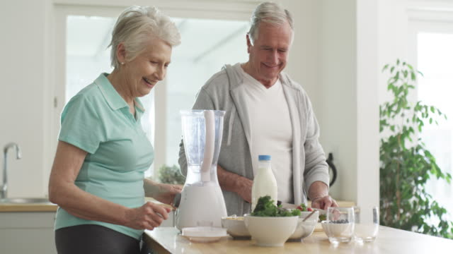 starting their retirement on a healthy note - dieting stock videos & royalty-free footage