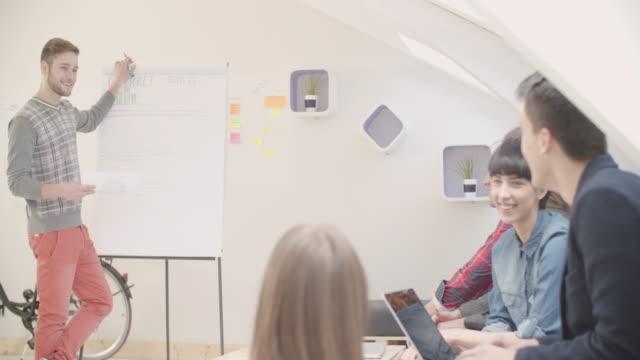4K: Startup Business Presentation.