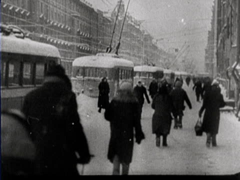 starvation in russia - ex unione sovietica video stock e b–roll