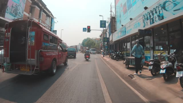 state air pollution in chiang mai - pollution mask stock videos and b-roll footage