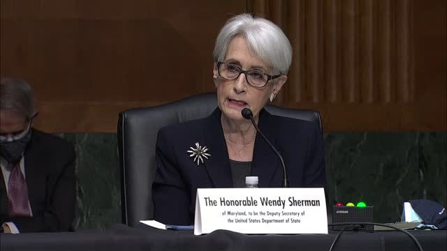 state department deputy secretary nominee wendy sherman tells senate formulations committee at nomination hearing she completely understood by many... - nomination stock videos & royalty-free footage