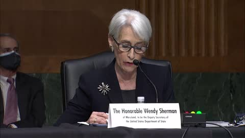 state department deputy secretary nominee wendy sherman tells senate foreign relations committee at her nomination hearing that president joe biden... - nomination stock videos & royalty-free footage