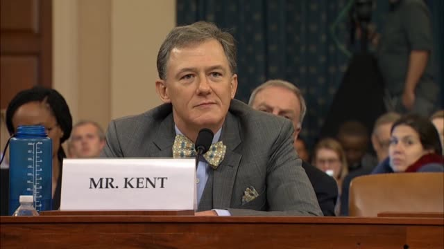 state department official george kent testifies under questioning by alabama congresswoman terri sewell at the first public impeachment inquiry... - alabama us state stock videos & royalty-free footage