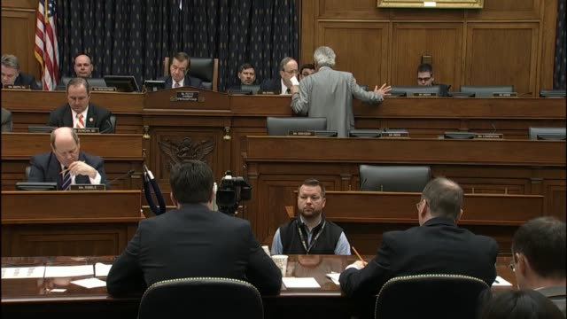 state department special envoy for guantanamo closure lee wolosky emphasizes in testimony before the house foreign affairs committee that president... - united states department of defense stock videos and b-roll footage