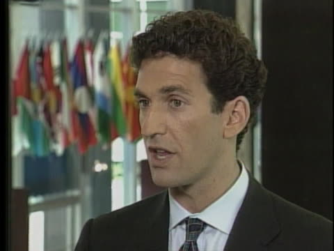 us state department spokesman james rubin says not only is there a nuclear arms race but there's also a dispute of national importance to india and... - united states and (politics or government) stock videos & royalty-free footage