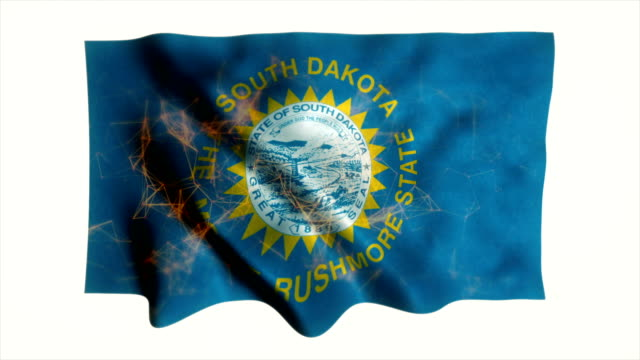 US state flag of South Dakota