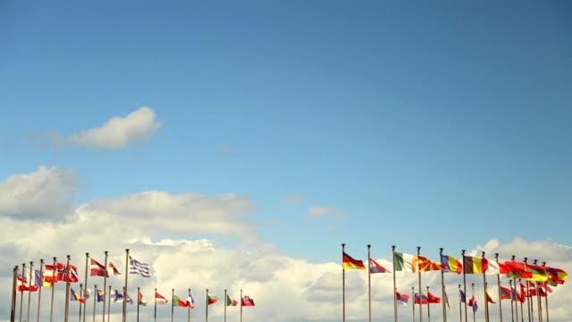 vidéos et rushes de drapeaux d'état - scène tranquille