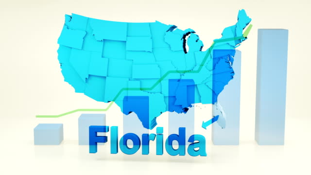 usa, state of florida - florida us state stock videos & royalty-free footage