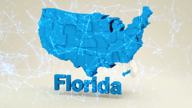 usa, state of florida - florida us state stock videos and b-roll footage