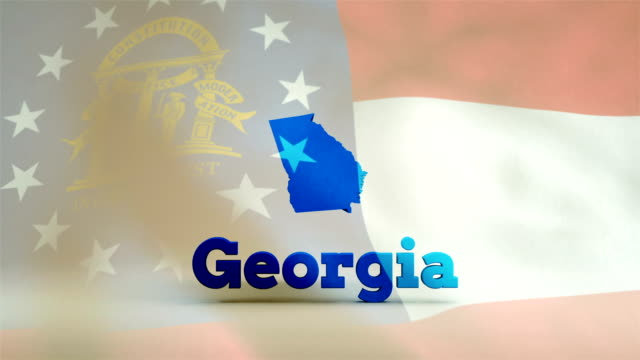 usa, state of georgia - georgia us state stock videos & royalty-free footage