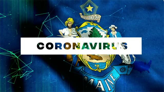 usa state of maine coronavirus news - indiana stock videos & royalty-free footage
