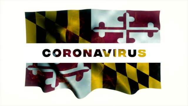 usa state of maryland coronavirus news - maryland us state stock videos & royalty-free footage