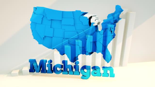 usa, state of michigan - michigan stock videos & royalty-free footage