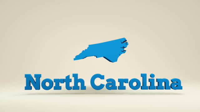 usa, state of north carolina - carolina del nord stato usa video stock e b–roll