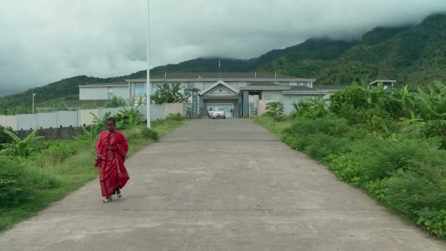 A state of the art hospital in a tropical forest symbolises the inconsistencies in the Comoros health system