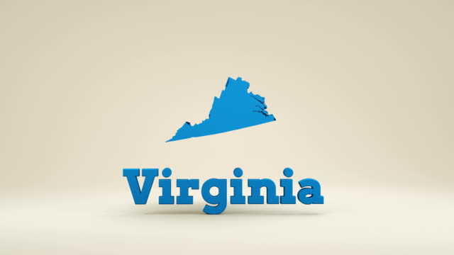 usa, state of virginia - virginia us state stock videos and b-roll footage