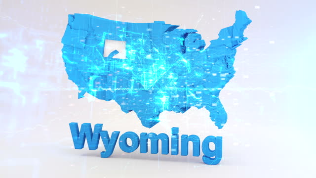 usa, bundesstaat wyoming - wyoming stock-videos und b-roll-filmmaterial