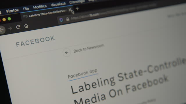 ITA: Facebook to block ads from state-controlled media entities