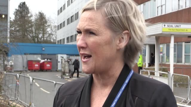 statement from janelle holmes chief exec of wirral university teaching hospitals as arrowe park hospital prepares to receive another group of... - key stock videos & royalty-free footage