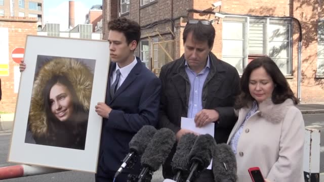 Statement outside West London Coroner's Court by Nadim EdnanLaperouse the father of 15yearold Natasha EdnanLaperouse who died after suffering a fatal...