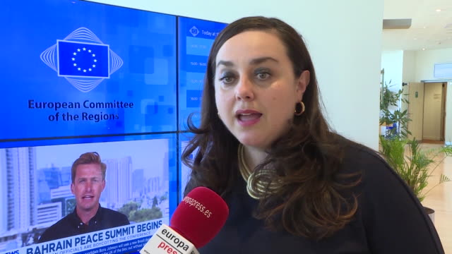 statements by the general director of environmental quality and climate change of galicia maría cruz ferreira who has explained the climate and... - galicia stock videos & royalty-free footage