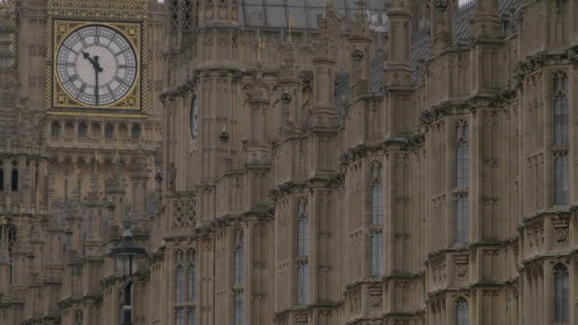 static close-up views of the palace of westminster - general view stock videos & royalty-free footage