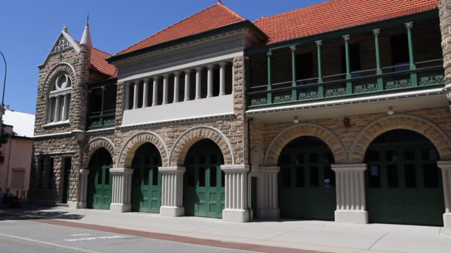 M/S Static Exterior Old Fire Station, Perth