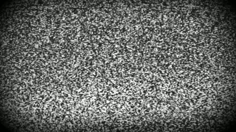 stockvideo's en b-roll-footage met tv static van analoge televisie. 4k - vj