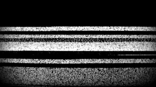 tv static from analog television set. 4k - arts culture and entertainment stock videos & royalty-free footage
